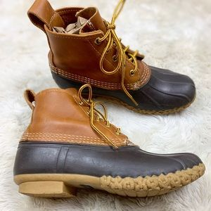 "L.L.Bean Waterproof 6"" Bean Boots"